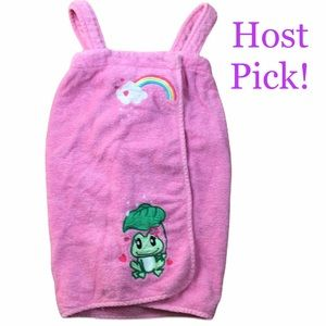 *hp* Wearable Pink Frog Towel by Pampered Princess